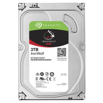 "Dysk 3,5"" 3TB Seagate IronWolf ST3000VN007"