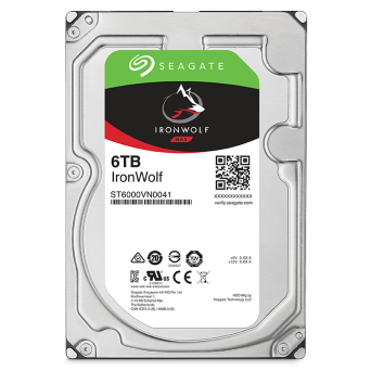 "Dysk 3,5"" 6TB Seagate IronWolf ST6000VN0033"