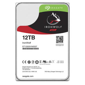"Dysk 3,5"" 12TB Seagate IronWolf ST12000VN0007"
