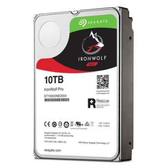"Dysk 3,5"" 10TB Seagate IronWolf ST10000VN0004"